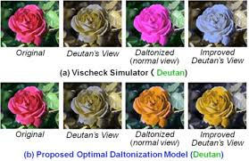 Hard Color Blind Test Shows The Furthermore Daltonization Results In Ishihara Color