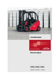 linde h 60 forklift service manual manual linde h25 d h30d h35d 393 1
