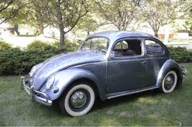 gold volkswagen beetle fully restored but rarely driven 1957 vw beetle classiccars com