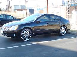nissan maxima with black rims nissan maxima black blue wheels on nissan images tractor service