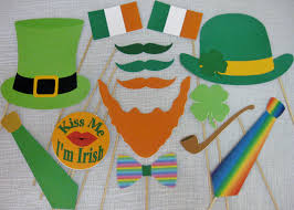 pdf st patrick u0027s day photo booth props decorations craft
