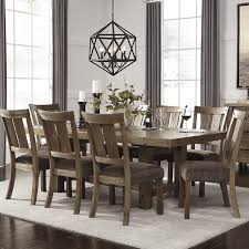 9 dining room set loon peak etolin 9 dining set reviews wayfair