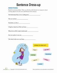 christmas nouns and adjectives 9 worksheets grammar worksheets