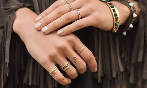 all fingers rings images 21 photos of stackable rings that 39 ll teach you how to wear a bunch jpg