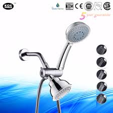 rain shower head system triton dual rain shower head system with detachable handheld