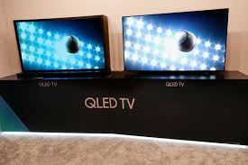 Pictures Of Tvs Samsung Says Its New Qled Tvs Are Better Than Oled Tvs The Verge
