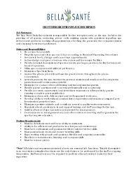 Restaurant Supervisor Job Description Resume Front Desk Job Description For Resume Resume For Your Job