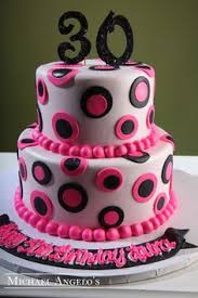 pink black 21 30th birthday party ideas pinterest 21st cake