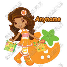 personalized iron transfers strawberry shortcake strawberry shortcake orange blossom personalized custom shirt iron transfer decal