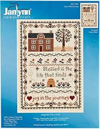 janlynn 14 count a virtuous counted cross stitch