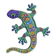 Seeking Lizard Review Handcrafted Ceramic Lizard Wall From Mexico Desert Lizard