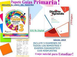examen montenegro 3 grado primaria la guía santillana y mda montenegro exámenes todos ls grados