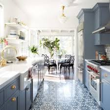 narrow kitchen ideas a galley kitchen remodel adds storage space and convenience narrow