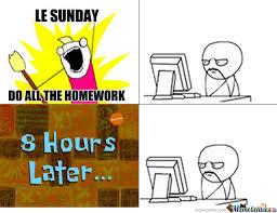 Do All The Meme - do all the homework by recyclebin meme center