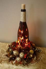 Wine Bottles With Lights The 25 Best Lighted Wine Bottles Ideas On Pinterest Glittering