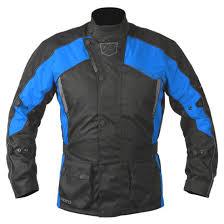 blue motorcycle jacket akito python motorcycle jacket blue waterproof textile cordura pb