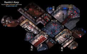 Poe Maps Raedrics Keep Pillars Of Eternity Walkthrough With Maps U0026 Game