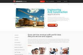 free html5 website template for industrial business monsterpost