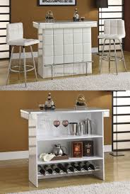 bar stools living room mini bar furniture design with wine rack