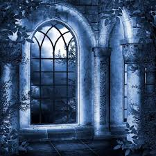 halloween scenic background mysterious arched design 10 u0027 x 10 u0027 cp scenic background don u0027t