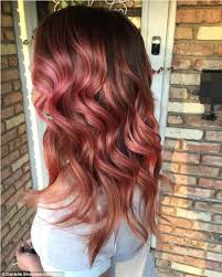 57year hair color why rose gold is the latest hair colour trend to obsess over