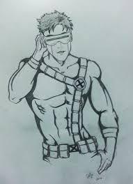 pencil sketches cartoons cyclops pencil sketch shadowlight82 on