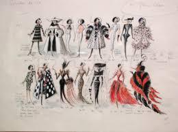 amazing sketches for costume ideas for cruella deville costume
