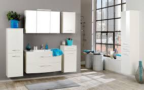 Bad Waschtisch Badmöbel Set Florida Mit Waschtisch Und Spiegelschrank 4