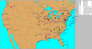 Map Of Unf Spent Nuclear Fuel Characterization Ornl