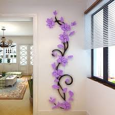 wall sticker picture more detailed picture about flower vine flower vine wall stickers refrigerator window cupboard home decorations diy home decals art mural posters home