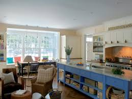 blue kitchen island love the kitchen island in the middle and the