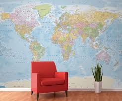 28 giant wallpaper wall mural world giant childrens world giant wallpaper wall mural world wall mural giant photo wallpaper blue political map of the