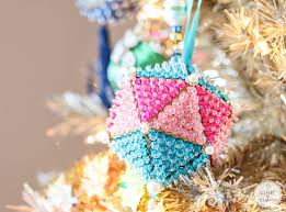 44 best sequin beaded ornaments images on beaded