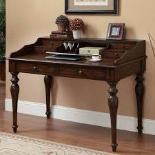 Furniture Secretary Desk Drop Front With Antique Oak Secretary