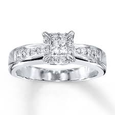 jared jewelers to complete the ideas of princess cut diamond engagement rings
