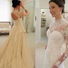 long sleeve lace wedding dress white wedding dresses wedding