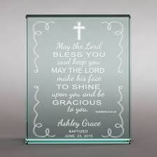 personalized religious gifts god bless personalized glass ornament religious events