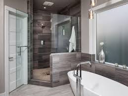 Grey Modern Bathroom Bathroom Grey Modern Bathroom With White Vanity Sink And