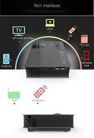 sony home theater system push power protector unic uc46 led projector 1200lm 1080p hd wifi vga hdmi sd av usb