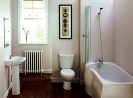 Small Bathroom Design With Shower by Brown Bathroom Wall Themes With Shower Areas And Rectangle White