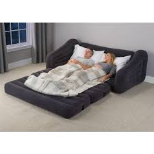 sofas center sofa with mattress air built in pump queen metal
