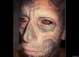 ever wonder why people get face tattoos here u0027s the answer from 9