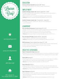 Innovative Resume Formats Pinning This Because I Love Her Resume Format Very Eye Catching