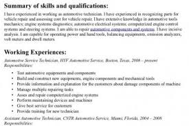 Sample Resume For Automotive Technician by Detailer Resume Samples Visualcv Resume Samples Database Auto