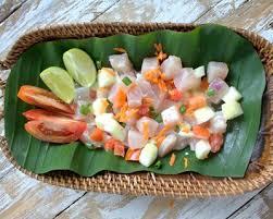 cuisine tahitienne recettes recette poisson à la tahitienne