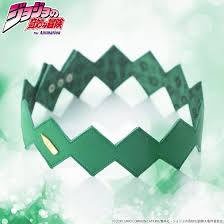 green headband crunchyroll show your unbreakable fashion with jojo s