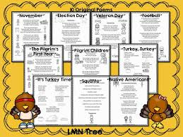 lmn tree november poems and free activities