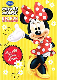 amazon disney minnie mouse coloring books 2 pack toys