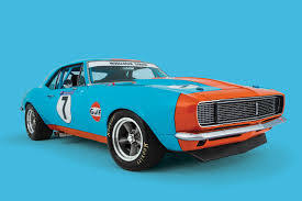 gulf car gulf warfare dave sturrock and his 1967 chevrolet camaro rs ss
