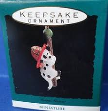1993 learning to skate hallmark retired miniature ornament 1993